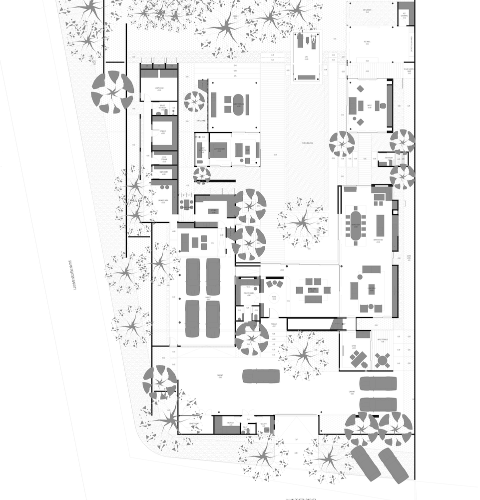 PB1-GROUND FLOOR PLAN