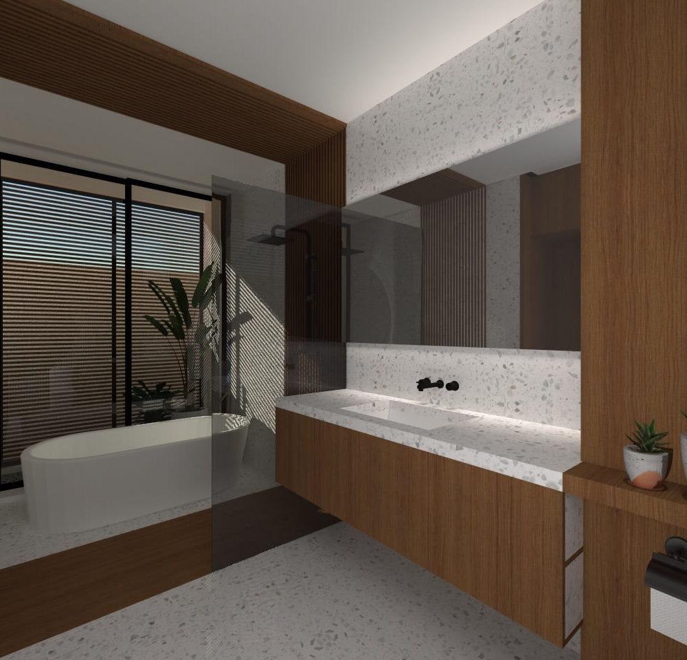 kamar mandi utama